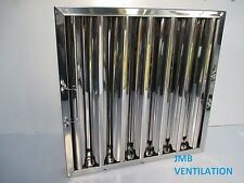 """CANOPY, EXTRACTION, BAFFLE GREASE FILTER 495 x 495 x 48 ( 20"""" x 20"""" x 2"""" )"""