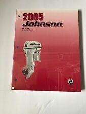 2005 Johnson, BRP, 40,50 2 Stroke Shop Manual, Service Manual, 5005966