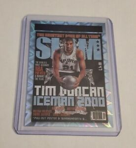 R69,514 - 2020-21 Panini Hoops Slam #8 Purple Explosion SP Tim Duncan Spurs