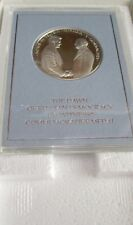 FRANKLIN MINT STERLING SILVER MEDAL THE DAWN OF RUSSIAN DEMOCRACY Eyewitness