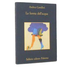 Andrea Camilleri - La forma dell'acqua (come nuovo!!)