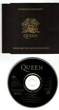 QUEEN Cd Single Bohemian Rhapsody - These are the days Pressing Made in Holland
