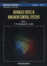 Advanced Topics in Nonlinear Control Systems (World Scientific Series -ExLibrary