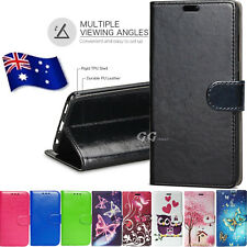 Wallet PU Leather Cover Stand Card Case For Apple Samsung Xiaomi Huawei LG Oppo