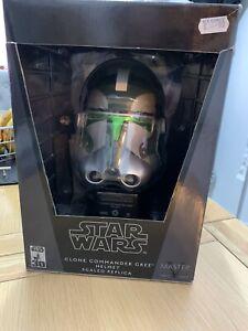 Star Wars Master Replicas Scale Clone Commander Gree Helmet