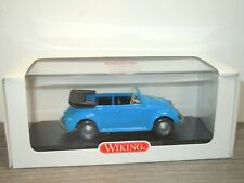 VW Volkswagen Kafer Beetle Cabriolet - Wiking 1:40 in Box *33432