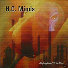 H.C. Minds - Superficial Worlds - CD - Neu - Doom Sludge Metal