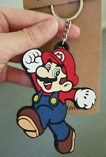 New Super Mario soft pvc key ring chain kids boy FAST SHIP