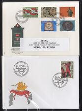 SUIZA - COLECCION SPD / FDC 1986/2002 - ¡¡OPORTUNIDAD!!