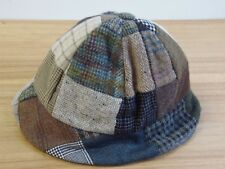 HANNA HATS IRELAND DONEGAL TWEED LTD SIZE Medium LINED PATCHWORK