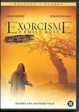 DVD ZONE 2--L'EXORCISME D'EMILY ROSE--LINNEY/WILKINSON/DERRICKSON