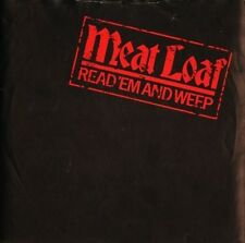 """MEAT LOAF read 'em and weep/everything is permitted EPC A 2012 1981 7"""" PS VG/EX"""
