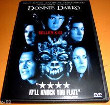 Donnie Darko dvd Drew Berrymore Jake Gyllenhaal Jena malone Swayze Noah Wyle