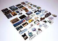 Refrigerator Magnets Lot of 55 Travel Souvenir Destination Vintage USA World
