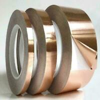 20m x20mm Copper Foil Tape Double Sided high Conductive P5S8 B8B3 Adhesive H7N1