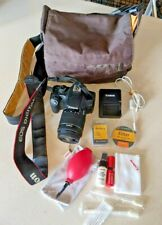 Canon Eos Rebel Xs w/ Lens, Extra Battery, Charger, New Cleaning Kit, Camera Bag