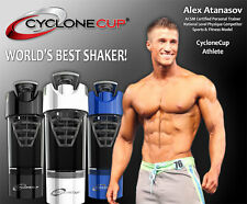 Taza de ciclón mundos Mejor Proteína Coctelera Batidora Mezclador de nutrición Deporte Gimnasio Botella