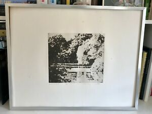 Norman Ackroyd - Jackson's Pond hand-signed etching, edition of 50 - large