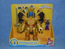 New Fisher Price Imaginext -Mighty Morphin Power Rangers - Goldar & Rita Repulsa