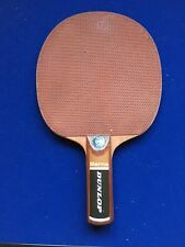 VINTAGE Dunlop * bearna * tennis da tavolo Pipistrello Pimple Ping Pong Lama Pagaia
