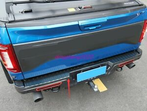 Carbon fiber style Trunk guard cover trim For Ford F150 F-150 2017-2020