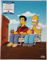 Actor Ray Romano signed The Simpsons 11x14 Photo autograph ~ Beckett BAS COA