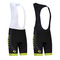 Cycling Bib Short Bicycle Bike Padded Pant Mountain Trousers Jersey Clothing Top