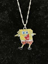 Yelling Spongebob Squarepants Necklace