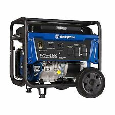 Westinghouse WGen5500 Gasoline Powered Portable Generator