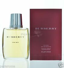 Burberry by Burberry For Men Eau De Toilette 3.3 OZ  NEW