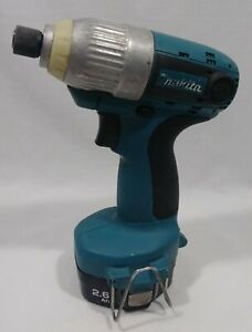 Makita Power Tools Impact Driver w/14.4V Ni-MH Rechargeable Battery(1434) Tested