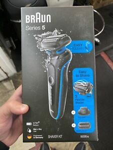 Braun Series 5-5035s Men's Rechargeable Wet & Dry Electric Foil Shaver