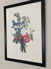 Vintage Botanical wall art print - 20''x16'', framed redoute wall art
