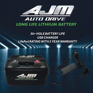 36 Hole Golf Buggy Lithium Battery Kit for MGI, MOTOCADDY, HILLBILLY & POWAKADDY