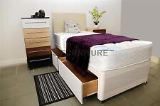 3ft Single Divan Bed+Medium Firm 22cm Mattress+2 drawers+Headboard SALE PRICE!!!
