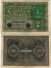 Reichsbanknote 50 Mark 1919 Berlin Reichsbank DEU-71d Ro.62d 66(4) SEHR SELTEN