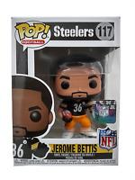 Funko Pop Jerome Bettis 117 Steelers NFL Football Collectible Vinyl Figure New