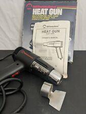Milwaukee Dual Heat Gun 1220 With Original Box Manual Amp Scraping Tool Tested