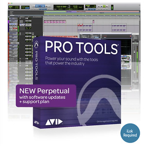 Avid Pro Tools Perpetual License with 1-Year of Updates + Support Plan