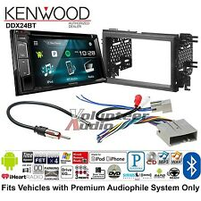 Kenwood Double Din DVD CD Player Car Radio Install Mount Kit