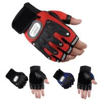 Sports Racing Cycling Motorcycle MTB Bike Bicycle Half Finger Gloves Knuckle Pad