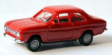 Ford Escort 1 Dog Bone 1968-74 Red Red 1:87 Herpa