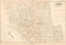1883 NEW ORLEANS LOUISIANA LELAND UNIVERSITY ST. MARY'S CONVENT ATLAS MAP