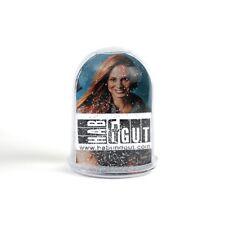 HAB & GUT Schüttelkugel als Bilderrahmen HIGH, 10 cm, zwei Fotos, Silberglitter