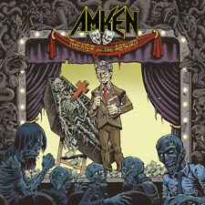 "AMKEN - ""THEATER OF THE ABSURD"" ALBUM (2017) CD JEWEL CASE"