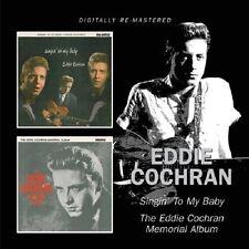Eddie Cochran Singin' To My Baby/Memorial Album CD NEW SEALED C'mon Everybody+