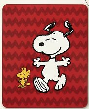 NEW Peanuts Snoopy and Woodstock 40in x 50in Silky Soft Fleece Throw Blanket