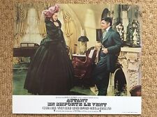 GONE WITH THE WIND Original Vintage Lobby Card 3 VIVIEN LEIGH CLARK GABLE