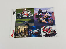 Yamaha 1980's 8 page street bikes sales brochure as new