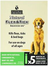 Natural Chemistry 11260 Flea & Tick Squeeze On For Large Dogs, 50 Lb